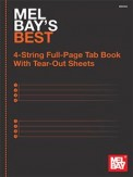 Mel Bay's Best 4-String Full-Page Tab Bk