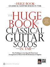 Huge Book of Classical Guitar Solos(Tab)