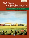 Folk Songs For Solo Singers V 1 (Book)
