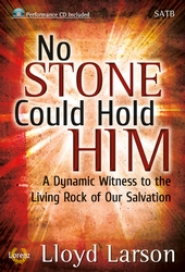No Stone Could Hold Him (SATB Book/Cd)