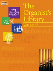 ORGANIST'S LIBRARY VOL 58, THE