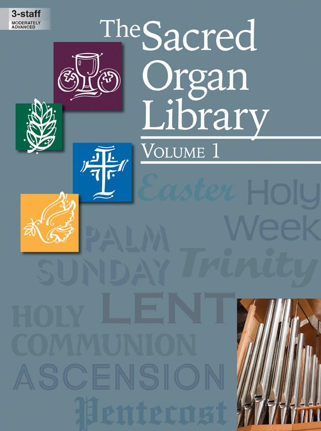SACRED ORGAN LIBRARY VOL 1, THE