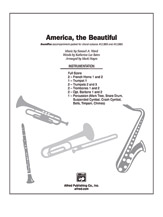 America, the Beautiful: 1st Trombone