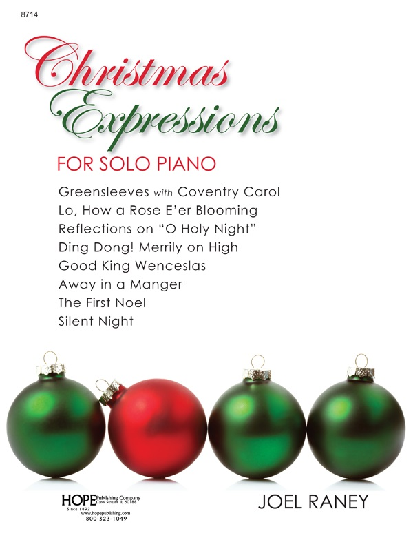CHRISTMAS EXPRESSIONS FOR SOLO PIANO