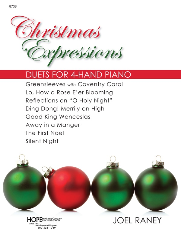 CHRISTMAS EXPRESSIONS DUETS FOR 4-HAND