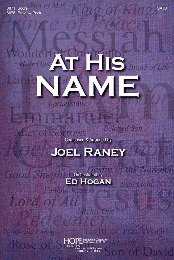 At His Name Sheet Music by Joel Raney (SKU: 8871