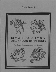 New Settings of Twenty Well-Known Hymns