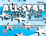All-Star Sports Pak (Horn In Bb)