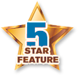 5 Star Feature